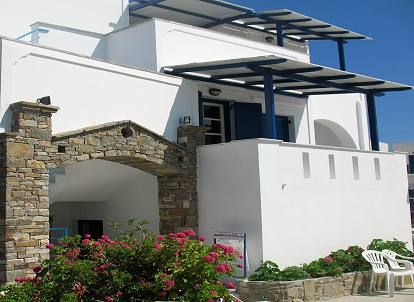 Naxos Studios Apartments Flora Accommodation in Agia Anna beach